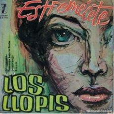 Disques de vinyle: LOS LLOPIS - ESTREMECETE/PASEANDO BAJO LA LLUVIA/DOCTOR BRUJO/ROCK (EP ESPAÑOL, ZAFIRO 1960). Lote 187898348