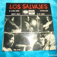 Discos de vinil: LOS SALVAJES. SE LLAMA MARIA + 3. EP. REGAL, 1965. PROMOCIONAL. IMPECABLE (#). Lote 187964913