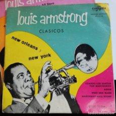 Discos de vinilo: LOUIS ARMSTRONG - WHEN THE SAINTS...+ 3 EP 1955 ***200 COPIAS*** RARISIMA PRIMERA EDICION ESPAÑOLA . Lote 188308617