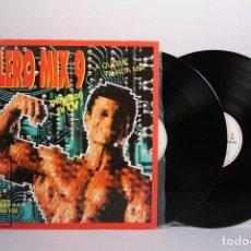 Discos de vinilo: DOBLE DISCO LP DE VINILO - BOLERO MIX 9 - QUIQUE TEJADA - BLANCO Y NEGRO MUSIC - AÑO 1992. Lote 188345398