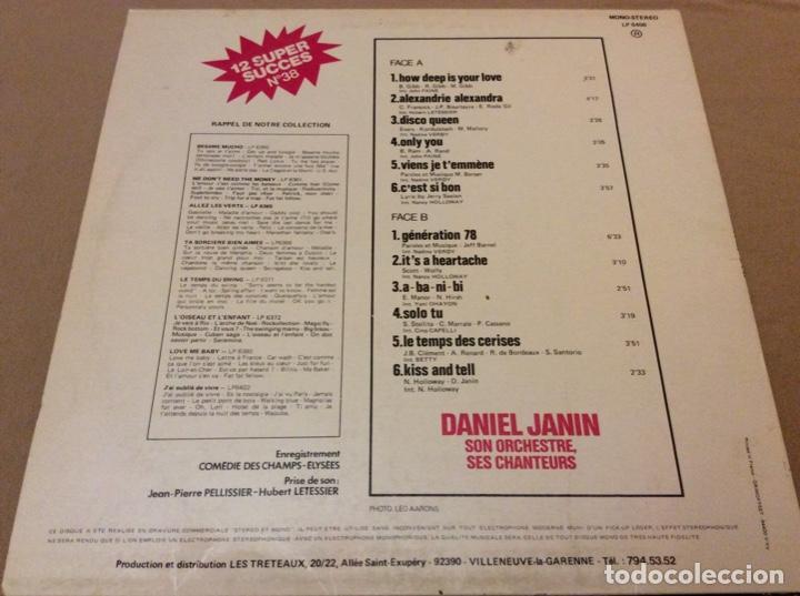 Discos de vinilo: Daniel janin. 12 hits disco n38. - Foto 2 - 188404788