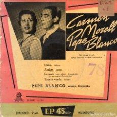 Discos de vinilo: PEPE BLANCO - DIME + 3 EP.S. Lote 188408815