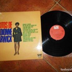 Discos de vinilo: DIONNE WARWICK EXITOS DE LP VINILO ESPAÑA DEL AÑO 1975 CONTIENE 12 TEMAS BURT BACHARACH HAL DAVID. Lote 188409345