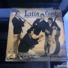 Discos de vinilo: SINGLE / EP. LATIN COMBO. TEA FOR TWO. CHA CHA CHA. SEÑORITA LUNA. ESPAÑA, 1959. Lote 188414612