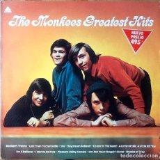 Discos de vinilo: THE MONKEES : GREATEST HITS [ESP 1982] LP/COMP. Lote 188418257