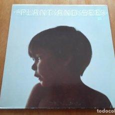 Discos de vinilo: PLANT AND SEE S/T (WHITE WHALE WW 7120 - USA 1969) PSYCHEDELIC ROCK ORIGINAL LP. Lote 188419408