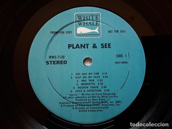 Discos de vinilo: PLANT AND SEE s/t (White Whale WW 7120 - USA 1969) PSYCHEDELIC ROCK ORIGINAL LP - Foto 4 - 188419408