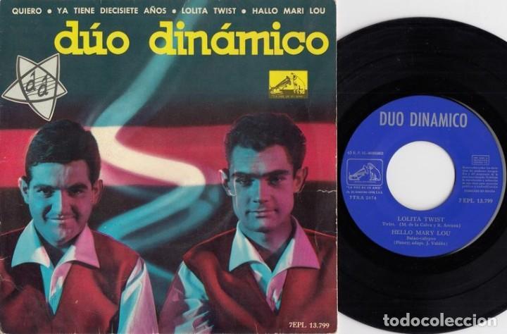 DUO DINAMICO - LOLITA TWIST - EP DE VINILO # (Música - Discos de Vinilo - EPs - Grupos Españoles 50 y 60)