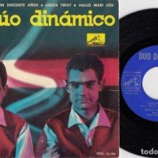 Discos de vinilo: DUO DINAMICO - LOLITA TWIST - EP DE VINILO #. Lote 188422812