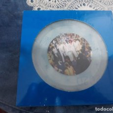 Discos de vinilo: ABBA-HAPPY NEW YEAR-SINGLE VINILO TRANSPARENTE- EDICION LIMITADA NUMERO 2661/4000. Lote 188425918
