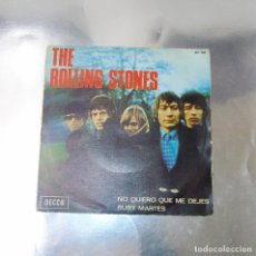 Discos de vinilo: THE ROLLING STONES ---RUBY TUESDAY & LET´S SPEND TONIGHT TOGETHER---- ORIGINAL AÑO 1966 ***COL***. Lote 176448569