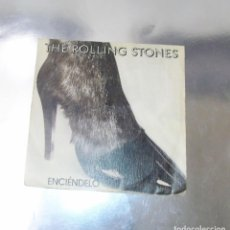 Discos de vinilo: THE ROLLING STONES --- START ME UP / NO USE IN CRYING. Lote 183411081