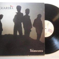 Disques de vinyle: LP - LA GUARDIA - VAMONOS - ZAFIRO - 1988. Lote 188431486