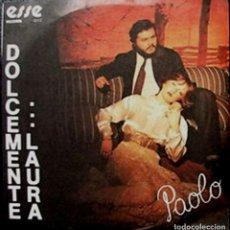 Discos de vinilo: SENCILLO ITALIANO DE PAOLO MERAGLIA. Lote 27201543