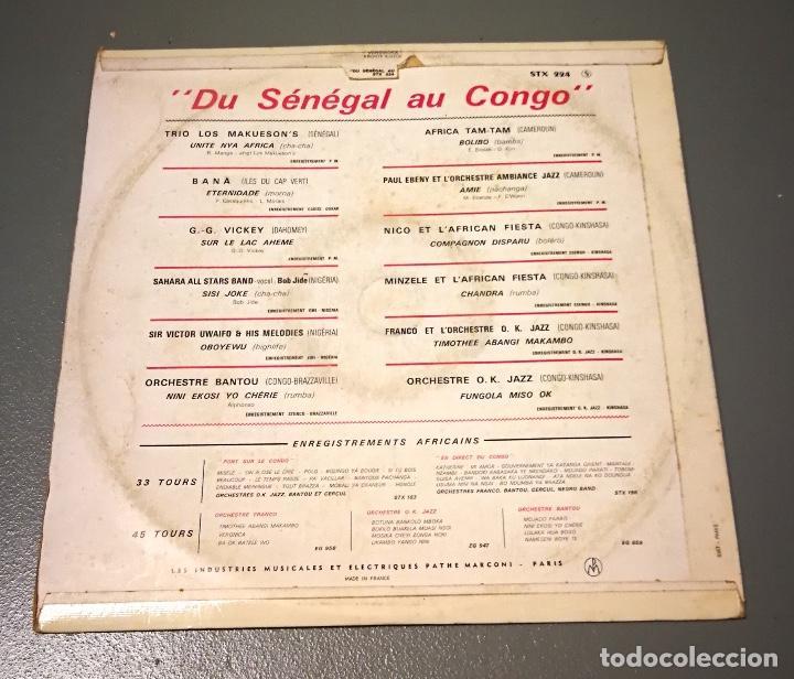Discos de vinilo: NUMULITE LP101 Du Sénégal au Congo Trio los Makuesons Bana Sahara All stars Band etc… - Foto 2 - 188433582