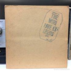 Discos de vinilo: THE WHO · LIVE AT LEEDS · DECCA USA LP ORIGINAL COMPLETO CON TODOS LOS INSERTS. Lote 188439523