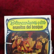 Discos de vinilo: BLANCA NIEVES Y LOS ENANITOS DEL BOSQUE. Lote 188454757