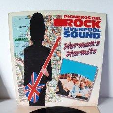 Discos de vinilo: DIFICIL!! PIONEROS DEL ROCK. LIVERPOOL SOUND. HERMEN'S HERMITS. 056-4156851. EMI.. Lote 188458900