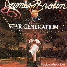 Discos de vinilo: JAMES BROWN - STAR GENERATION / WOMEN ARE SOMETHING ELSE - SINGLE (POLYDOR, 1980). Lote 188459861