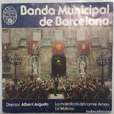 Disques de vinyle: FLEXI-DISC / BANDA MUNICIPAL DE BARCELONA / LA MALEDICCIO DEL COMTE ARNAU - LA WALKIRIA / 1983 PROMO. Lote 188460216