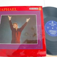 Discos de vinilo: RAPHAEL-LP AL PONERSE EL SOL-ESPAÑOL 1967-NUEVO. Lote 188461322