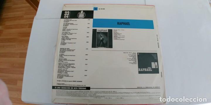 Discos de vinilo: RAPHAEL-LP AL PONERSE EL SOL-ESPAÑOL 1967-NUEVO - Foto 2 - 188461322