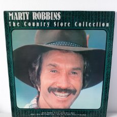 Discos de vinilo: IMPOSIBLE. MARTY ROBBINS. THE COUNTRY STORE COLLECTION. 1988. UK.. Lote 188461721