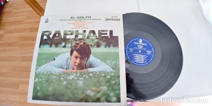 RAPHAEL-LP BSO DEL FILM EL GOLFO-1969-BUEN ESTADO (Música - Discos - LP Vinilo - Solistas Españoles de los 50 y 60)