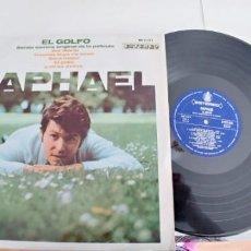 Discos de vinilo: RAPHAEL-LP BSO DEL FILM EL GOLFO-1969-BUEN ESTADO. Lote 188462397