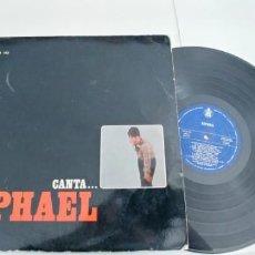 Discos de vinilo: RAPHAEL-LP CANTA RAPHAEL. Lote 188462823