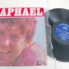 Discos de vinilo: RAPHAEL-LP EL GOLFO-ESPAÑOL 1968-NUEVO. Lote 188465627