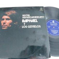 Discos de vinilo: RAPHAEL-LP RECITAL HISPANOAMERICANO. Lote 188467035