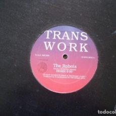 Discos de vinilo: TRANS WORK. THE ROBOTS. Lote 188469061