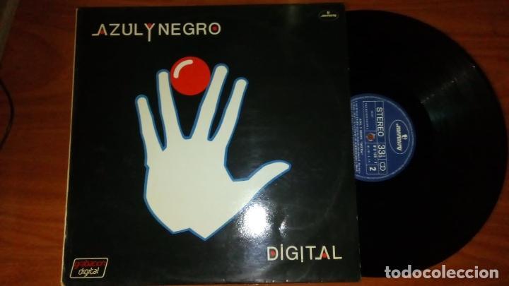 LP. AZUL Y NEGRO. DIGITAL. GRANDES EXITOS. (Música - Discos - LP Vinilo - Techno, Trance y House)