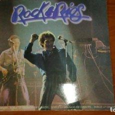 Discos de vinilo: DOBLE LP. MIGUEL RIOS. ROCK & RIOS.. Lote 188478246