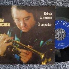 Discos de vinilo: RUDY VENTURA - BALADA DE INVIERNO / EL DESPERTAR. AÑO 1.971. EDITADO POR BELTER. Lote 188488051