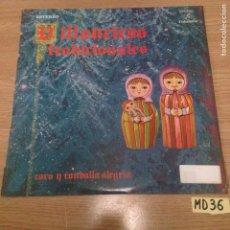 Discos de vinilo: VILLANCICOS TRADICIONALES. Lote 188489150