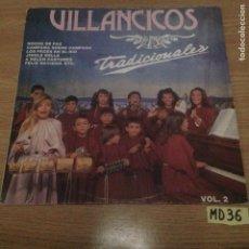 Discos de vinilo: VILLANCICOS TRADICIONALES. Lote 188492996