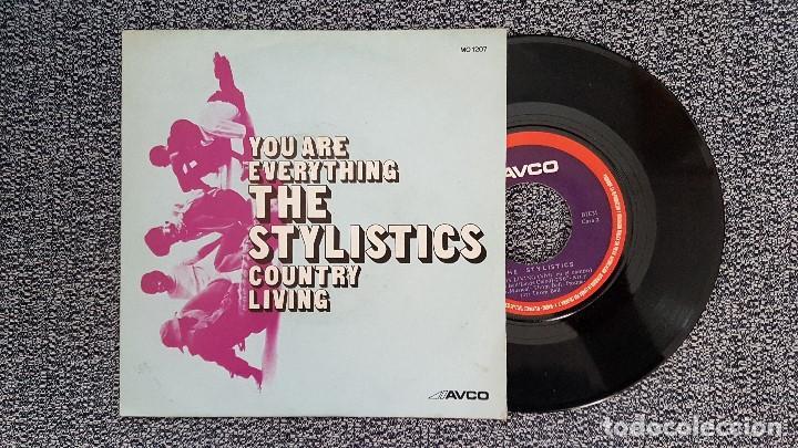 THE STYLISTICS - YOU ARE EVERYTHING. AÑO 1.972. EDITADO POR COLUMBIA. (Música - Discos - Singles Vinilo - Funk, Soul y Black Music)