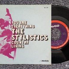 Discos de vinilo: THE STYLISTICS - YOU ARE EVERYTHING. AÑO 1.972. EDITADO POR COLUMBIA.. Lote 188493582