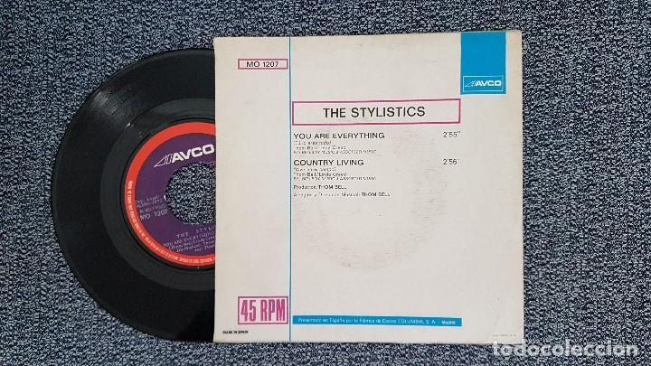 Discos de vinilo: The stylistics - You are everything. año 1.972. editado por Columbia. - Foto 2 - 188493582