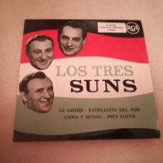 Discos de vinilo: SINGLE. LOS TRES SUNS. MORTY NEVINS / ARTIE DUNN. RCA. Lote 188510165
