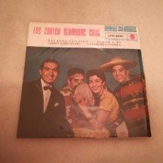 Discos de vinilo: SINGLE. LOS CUATRO HERMANOS SILVA. ESTANDO CONTIGO. 1961. RCA. Lote 188510548