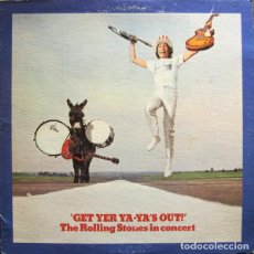 Discos de vinilo: THE ROLLING STONES ‎– GET YER YA-YA'S OUT! - THE ROLLING STONES IN CONCERT. Lote 188512201