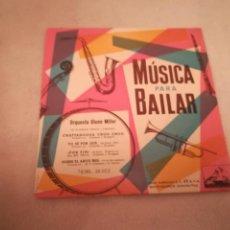 Discos de vinilo: SINGLE. MUSICA PARA BAILAR. ORQUESTA GLENN MILLER. LA VOZ DE SU AMO. Lote 188512240