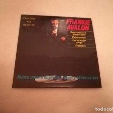 Discos de vinil: SINGLE. FRANKIE AVALON. NUNCA MUERE EL PRIMER AMOR. 1963. HISPAVOX. Lote 188512808