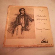 Discos de vinilo: MAXI SINGLE. LISZT. RAPSODIAS HUNGARAS. Nº 2,6,12 Y 15. SAMSON FRANÇOIS. LA VOZ DE SU AMO. Lote 188513640