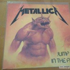 Discos de vinilo: METALLICA JUMP IN THE FIRE MAXI VINILO 1984. Lote 188514637