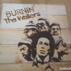 Disques de vinyle: THE WAILERS BURNIN LP SPAIN. Lote 188514833