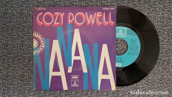 COZY POWELL - NA NA NA / MISTRAL. AÑO 1.974. EDITADO POR EMI ODEON. (Música - Discos - Singles Vinilo - Disco y Dance)